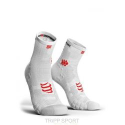 Compressport PRORACING SOCKS V3.0 (PRS V3) - RUN HIGH BLANC