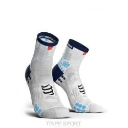 Compressport PRORACING SOCKS V3.0 (PRS V3) - RUN HIGH BLANC / BLEU