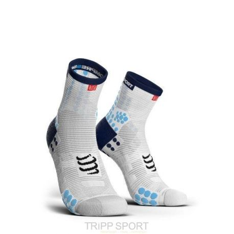 PRORACING SOCKS V3.0 (PRS V3) - RUN HIGH BLANC / BLEU