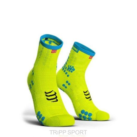 PRORACING SOCKS V3.0 (PRS V3) - RUN HIGH JAUNE