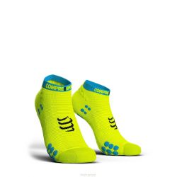 Compressport PRORACING SOCKS V3.0 (PRS V3) - RUN LOW JAUNE COMPRESSPORT