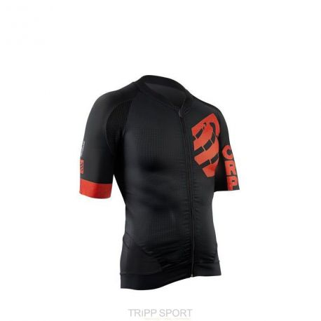 Maillot de Vélo On/Off Compressport Noir