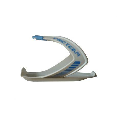 Porte bidon Pro Team - Blanc/Bleu
