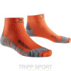 X Socks Chaussettes Running X SOCKS RUN DISCO V2 Orange