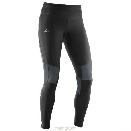 ELEVATE WARM TIGHT W Salomon collant long running course à pied