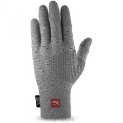 Compressport GANTS RUNNING GLOVES COMPRESSPORT GRIS