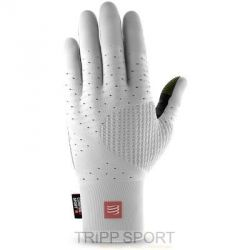 Compressport GANTS RUNNING GLOVES COMPRESSPORT BLANC