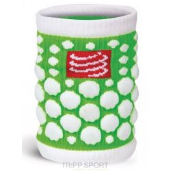 Compressport protège poignet compressport - SWEAT BAND - vert