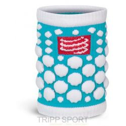 Compressport protège poignet compressport - SWEAT BAND - turquoise