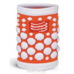Compressport protège poignet compressport - SWEAT BAND - Orange