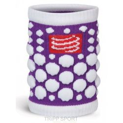 Compressport protège poignet compressport - SWEAT BAND - Violet