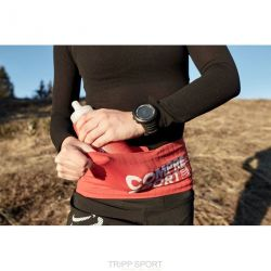 Ceinture running trail Free Belt Rouge + FLASK 600 ML OFFERTE