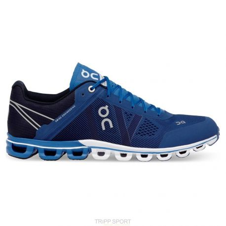 Cloudflow - Homme - River / Navy - CHAUSSURES DE COURSE On running