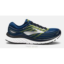 GLYCERIN 15 - Homme - Blue/Lime/Silver - CHAUSSURES DE COURSE