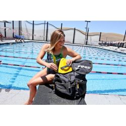 Finis Sac natation FINIS Torque Backpack Noir / Gris
