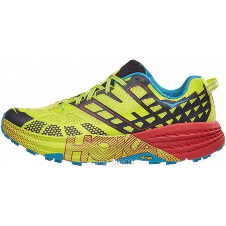 HOKA ONE ONE SPEED GOAT 2 - Homme - BEPR - CHAUSSURES DE Trail 2018