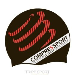 Compressport Bonnet de natation noir