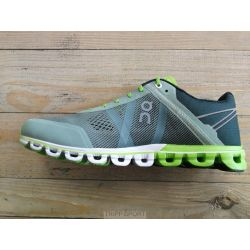 On Running On running Cloudflow - Homme - Moss / Lime - CHAUSSURES DE COURSE On running