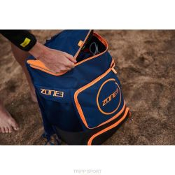 Zone3 Sac Transition triathlon backpack Bleu / Orange zone3