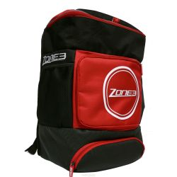 Zone3 Sac Transition triathlon backpack Noir / Rouge zone3