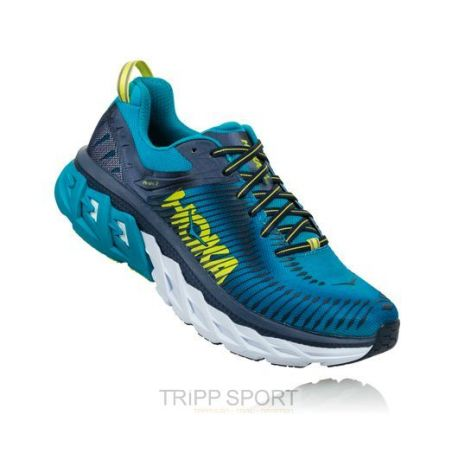 Hoka one one Arahi 2 Homme - Caribean Sea | Dress Blue - CHAUSSURES DE COURSE