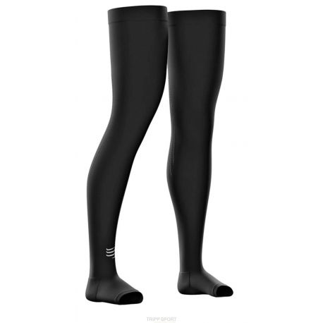 Jambières Compressport Total Full Leg noir