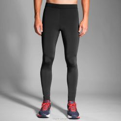 Brooks GO-TO TICHT - HOMME - NOIR - PANTALON RUNNING