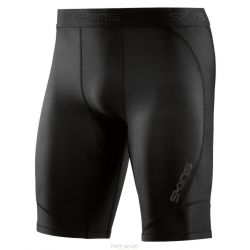 Skins DNAMIC MEN'S COMPRESSION HALF TIGHTS Black