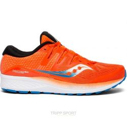 Saucony RIDE ISO - Homme - Orange - CHAUSSURES DE COURSE