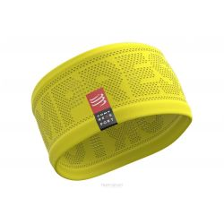 Compressport Bandeau ON OFF - Headband Jaune