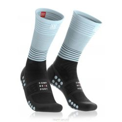 Compressport MID COMPRESSION SOCKS BLEU