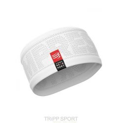 Compressport Bandeau ON OFF - Headband Blanc
