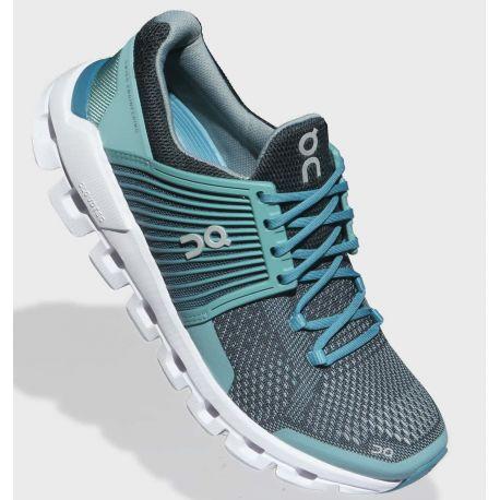 Cloudswift - Femme - Bleue clair Bleue foncé - Chaussure course à pied