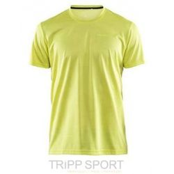 Craft Eaze Tee-Shirt Running - Jaune - Homme