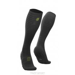 Compressport Compressport Full socks Oxygen - Black Edition 2019 noir chaussette de compression running trail