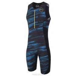 Zone3 COMBINAISON TRIFONCTION MEN'S ACTIVATE PLUS TRISUIT - ELECTRIC SPRINT - NOIR/JAUNE/LIME