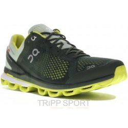 On Running Cloudsurfer - Homme - Jungle/Lime - CHAUSSURES DE COURSE