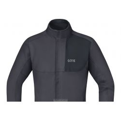 C5 Windstopper® Thermo Trail Veste Black / Grey