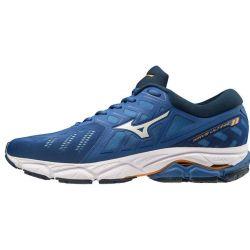 Mizuno Mizuno Wave Ultima 11 - Homme - Bleu - Chaussure course à pied J1GC190908