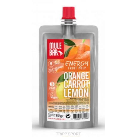 Mulebar PULPE DE FRUITS : Orange Carotte Citron