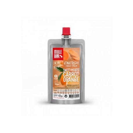 Mulebar PULPE DE FRUITS : Patate Douce Orange Carotte
