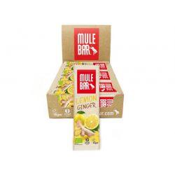 Mulebar Citron Gingembre - BARRE ÉNERGÉTIQUE BIO - VEGAN 40G