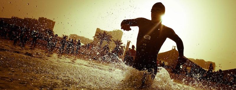 Combinaison de triathlon aquaman