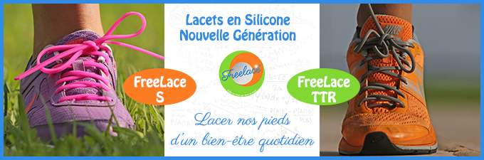 Lacet silicone Freelace