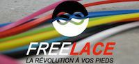 FreeLace Lacets silicone Freelace TTR ROUGE - FreelaceReborn
