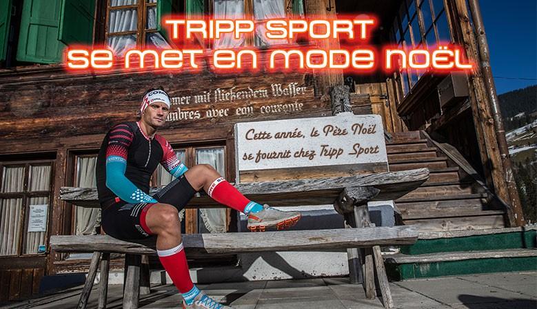 Noël chez Tripp Sport, magasin équipements sport pour le triathlon, trail, natation, course à pied Liévin, Arras, Lens, Bethune.