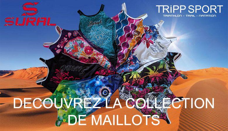 Maillots de bain Sural ! Équipement de natation sur Tripp Sport : Boutique de Triathlon / Running Lens, Béthune, Arras, Lille, Douai