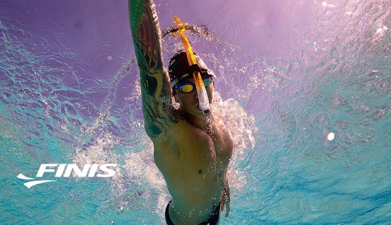 Entrainement, équipement de natation, équipement de triathlon, tuba frontal, nager avec la boutique du triathlon
