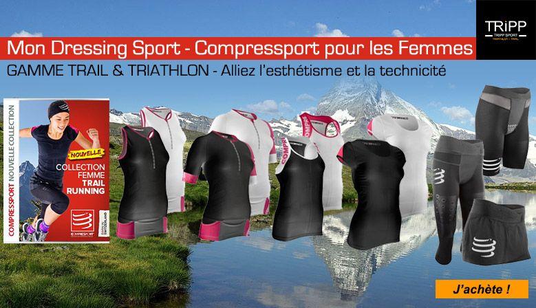 Dressing Compressport Femme dans votre magasin running trail triathlon Arras, Lens, Béthune, Liévin